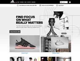 quality web dev for adidas